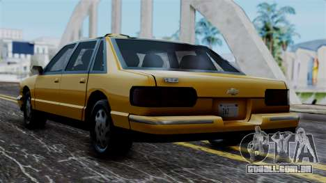 Taxi Casual v1.0 para GTA San Andreas esquerda vista