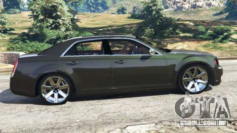 GTA 5 Chrysler 300C 2012 [Beta] vista lateral esquerda