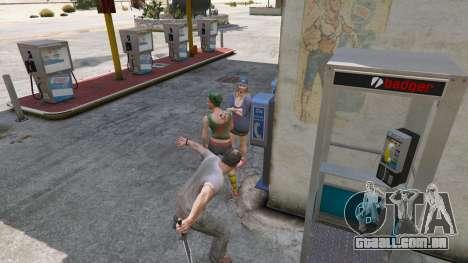 GTA 5 A Faca Do Rambo quinta imagem de tela