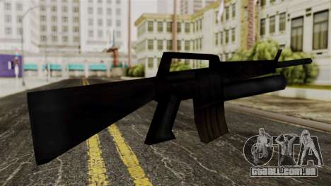 M16 from Delta Force para GTA San Andreas segunda tela