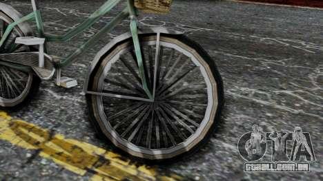 Olad Bike from Bully para GTA San Andreas vista direita