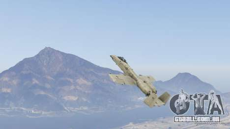 GTA 5 A-10A Thunderbolt II 1.1 nono screenshot