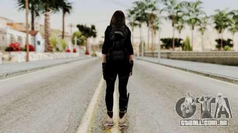 Christy Battle Suit (Resident Evil) para GTA San Andreas terceira tela