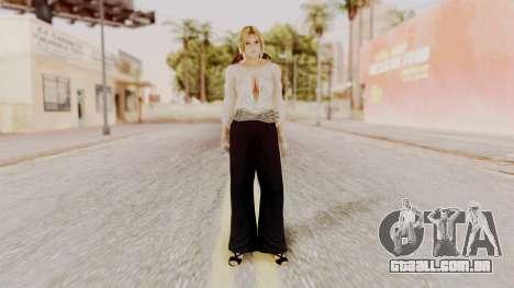 DOA 5 Helena Formal para GTA San Andreas segunda tela