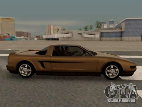 Infernus PFR v1.0 final para GTA San Andreas esquerda vista