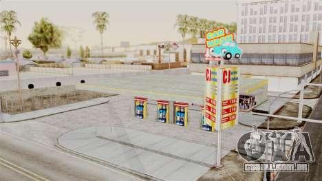 LS CJ Gas v2 para GTA San Andreas