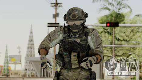 Derek Frost from CoD MW3 para GTA San Andreas