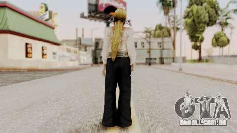DOA 5 Helena Formal para GTA San Andreas terceira tela