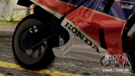 Honda VFR 750R para GTA San Andreas vista direita