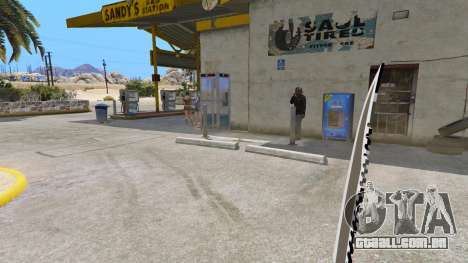 GTA 5 A Faca Do Rambo quarto screenshot