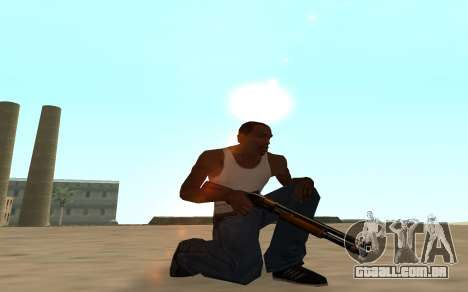 Nitro Weapon Pack para GTA San Andreas sexta tela