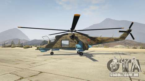 GTA 5 Mi 24 segundo screenshot