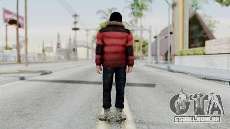 Willis Huntley from Far Cry 4 para GTA San Andreas terceira tela