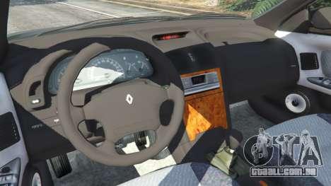 GTA 5 Renault Laguna I Phase II traseira direita vista lateral