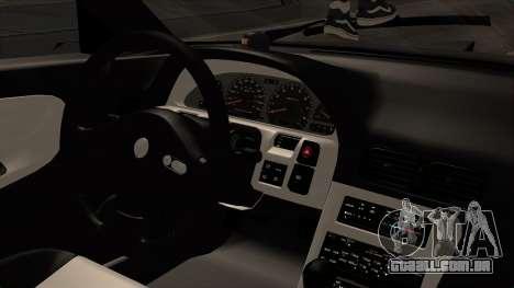 Nissan 240SX HQ para GTA San Andreas vista direita