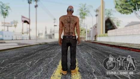2Pac Skin HD v1.0 para GTA San Andreas terceira tela