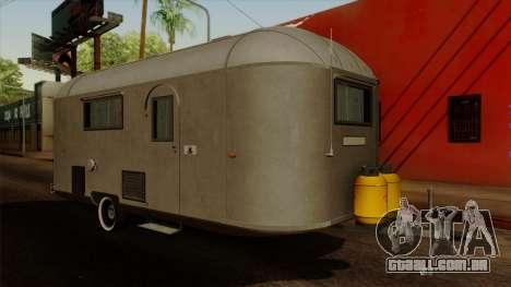 Camper Trailer 1954 para GTA San Andreas
