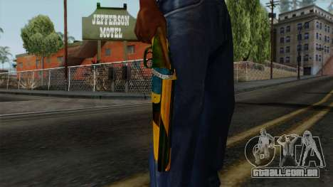Brasileiro Sawnoff Shotgun v2 para GTA San Andreas terceira tela