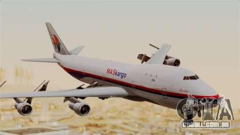 Boeing 747 MasKargo para GTA San Andreas
