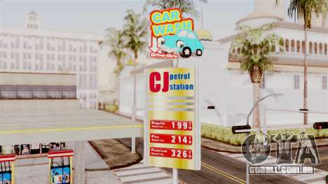 LS CJ Gas v2 para GTA San Andreas segunda tela