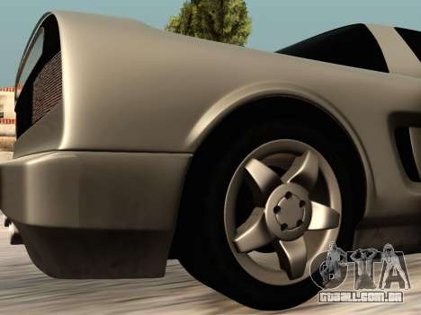 Infernus PFR v1.0 final para vista lateral GTA San Andreas