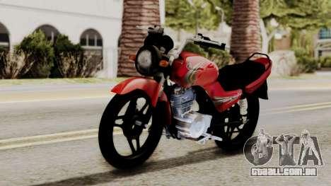 Yamaha YBR Imitacion para GTA San Andreas