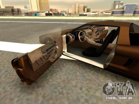 Infernus PFR v1.0 final para GTA San Andreas