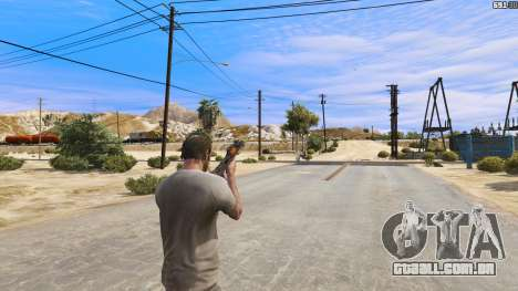 GTA 5 OTS-14 Groza de Battlefield 4 quarto screenshot