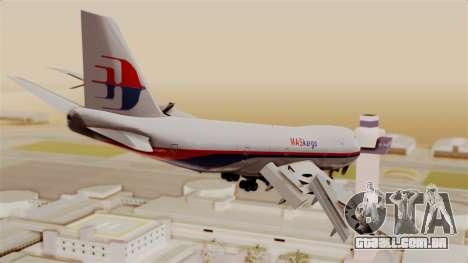 Boeing 747 MasKargo para GTA San Andreas esquerda vista