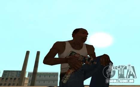 Asiimov Weapon Pack v2 para GTA San Andreas sétima tela