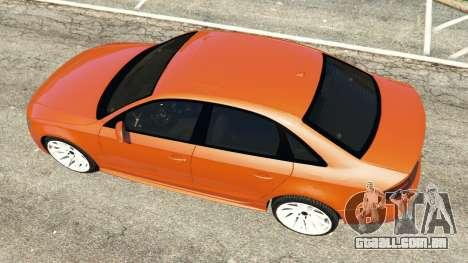 GTA 5 Audi S4 voltar vista