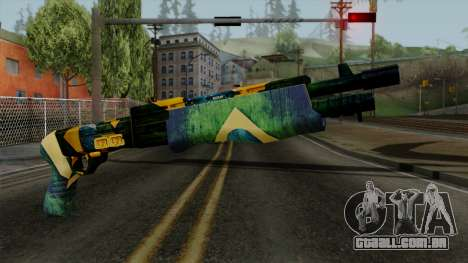 Brasileiro Combat Shotgun v2 para GTA San Andreas