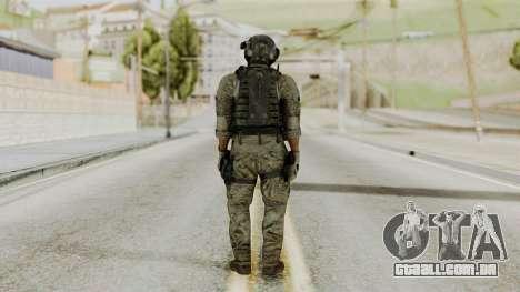 Derek Frost from CoD MW3 para GTA San Andreas terceira tela