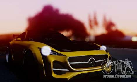 Mercedes-Benz AMG GT para GTA San Andreas vista traseira
