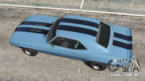 Chevrolet Camaro SS 350 1969 para GTA 5