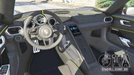 GTA 5 Porsche 918 Spyder 2014 [HD] frente vista lateral direita