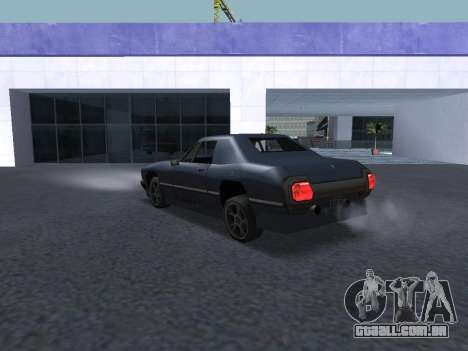 New Stallion para GTA San Andreas vista inferior