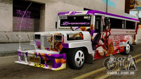 Znranomics - Costum Jeepney (Gabshop) para GTA San Andreas