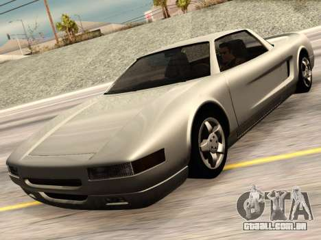 Infernus PFR v1.0 final para GTA San Andreas vista traseira