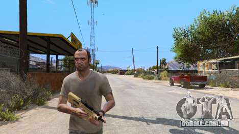 GTA 5 O TAR-21 из Battlefield 4 terceiro screenshot