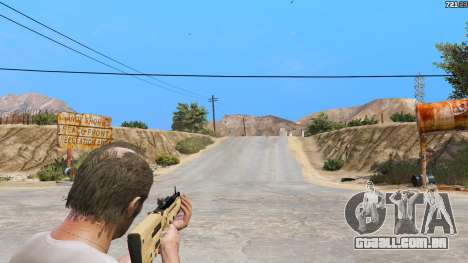 GTA 5 O TAR-21 из Battlefield 4 quarto screenshot