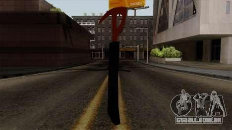 O machado da Floresta para GTA San Andreas segunda tela