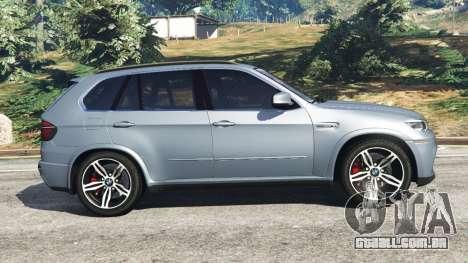 GTA 5 BMW X5 M (E70) 2013 v1.01 vista lateral esquerda