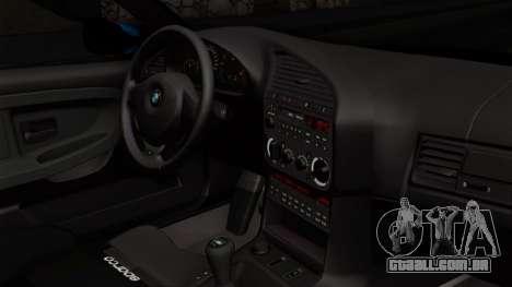 BMW M3 E36 79 para GTA San Andreas vista direita