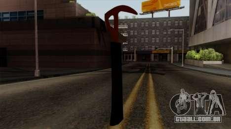 O machado da Floresta para GTA San Andreas terceira tela