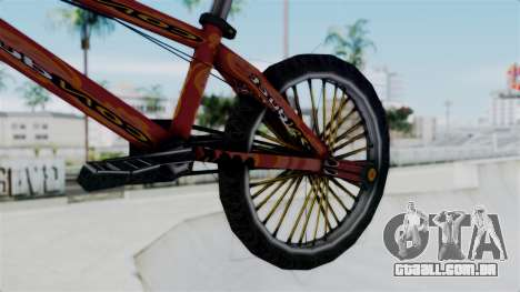 Bike from Bully para GTA San Andreas vista direita