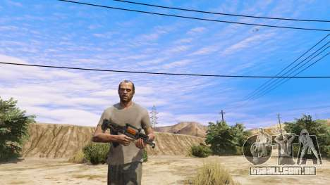 GTA 5 OTS-14 Groza de Battlefield 4 segundo screenshot