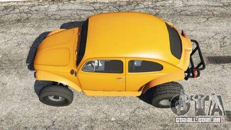 GTA 5 Volkswagen Beetle Baja Bug [Beta] voltar vista