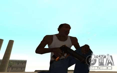 Nitro Weapon Pack para GTA San Andreas segunda tela