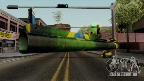 Brasileiro Heatseek v2 para GTA San Andreas terceira tela